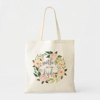 Floral Wreath, Mother of the Bride, Calligraphy-2 Tote Bag