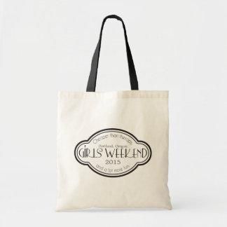 Girls Weekend Cheaper than Therapy Tote Bag