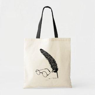 Harry Potter | Glasses And Quill Tote Bag