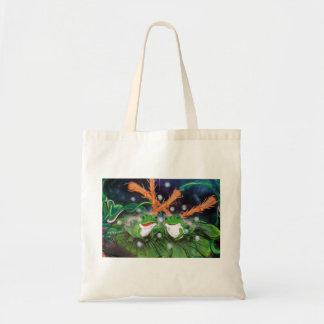 In The Land Of Frogs Tote Bag