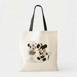Mickey & Minnie Wedding | Getting Married Tote Bag