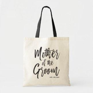 Mother of the Groom | Script Style Custom Wedding Tote Bag
