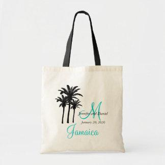 Personalized Beach Wedding Tote Bags