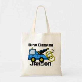 Ring Bearer Tow Truck Tote Bag