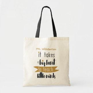 Teacher's Appreciation Personalized Tote Bag Gift