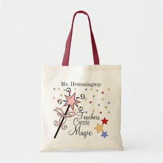 Teachers Create Magic Revised Tote Bag