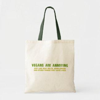 Vegans Are Annoying Tote Bag
